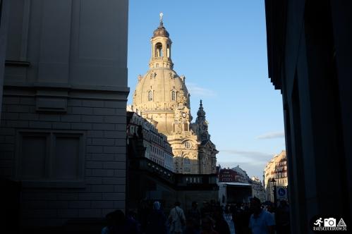 Dresden Semper Oper in der Abendsonne