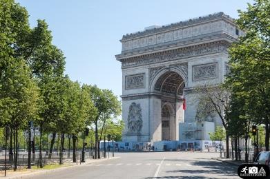 Arc de Triomphe am Champs Elysee