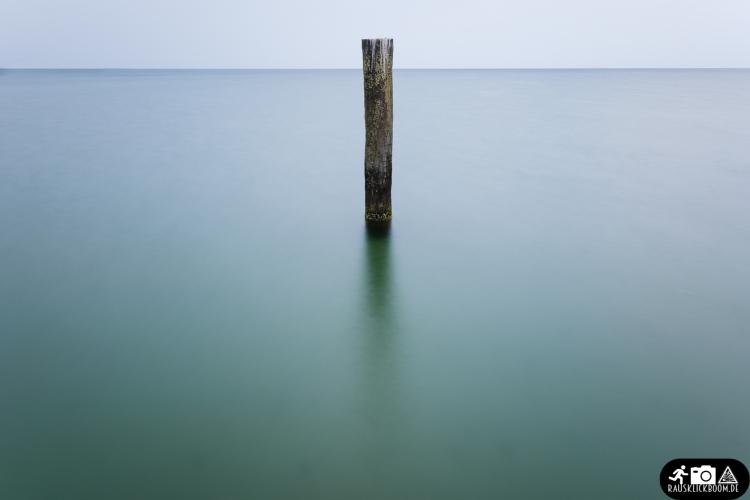 Langzeitbelichtung Ostsee Travemünde
